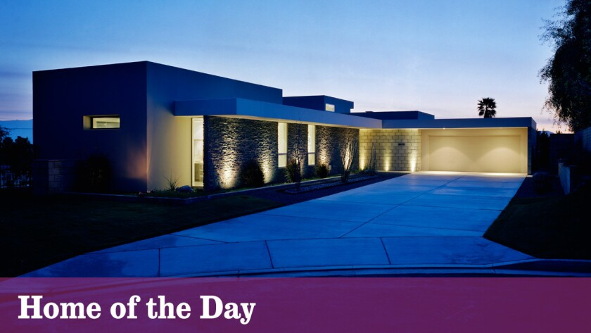 Home of the Day: A modern marvel in Palm Desert