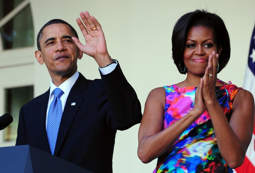 Michelle Obama S Becoming Is A Clear Frank Telling Of Her Life As A Black Woman In America Los Angeles Times