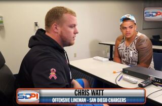 San Diego Chargers Chris Watt gives his advice