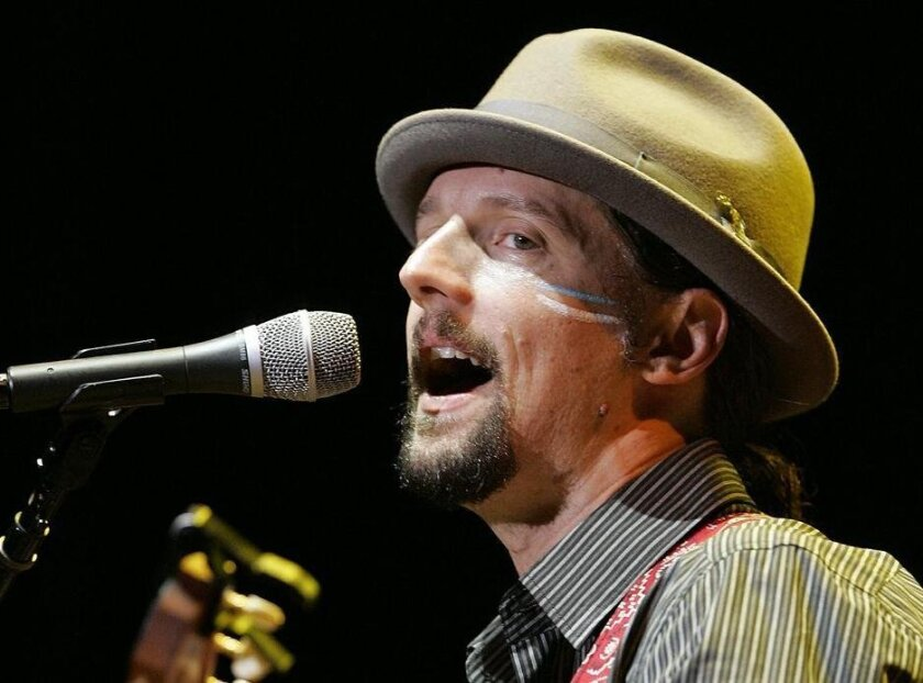 Grammy Award-winning Oceanside troubadour Jason Mraz will kick off his new tour in August at the Sean Diego Civic Theatre.