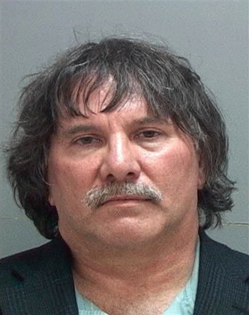 """This undated photo provided by the Utah Attorney General's Office shows David M. Rushton, the developer of popular video games including """"Alvin and the Chipmunks"""" and """"Tiger Woods PGA Tour 2005,"""" who began serving a yearlong jail sentence on Oct. 10, 2012, for failing to pay more than 100 employees"""