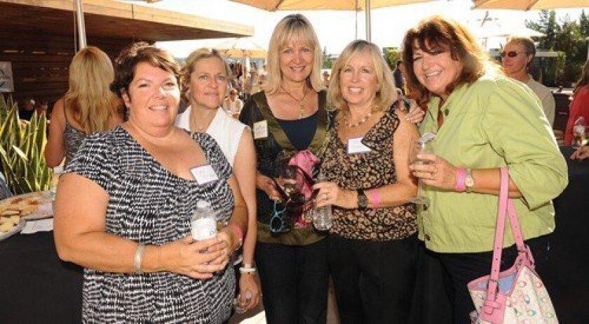 Marsi Bronson, Dee Jerge, Olga Bastiaannet Fisher, Cindi Boogard, Tanya Snider (Photo: Jon Clark)