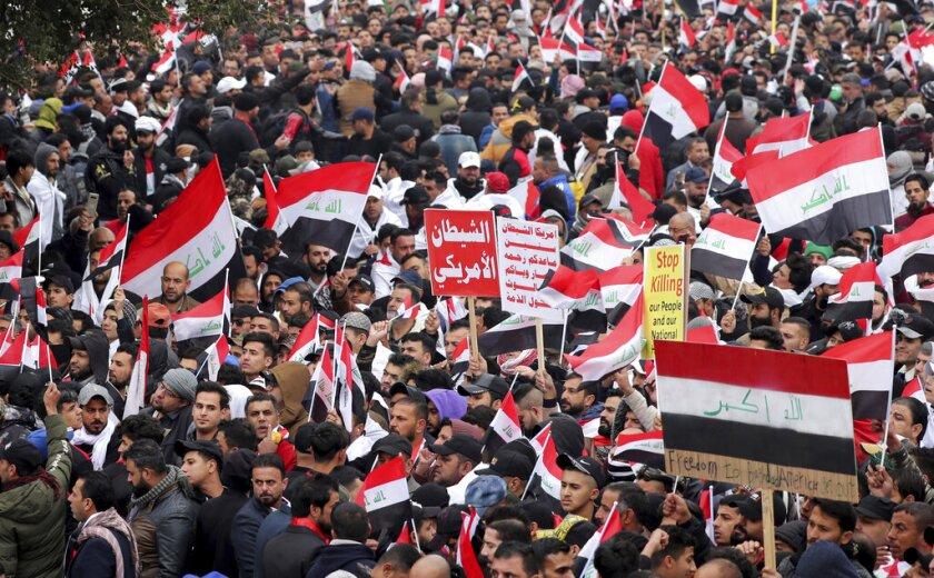 MOR-GEN IRAK-PROTESTAS