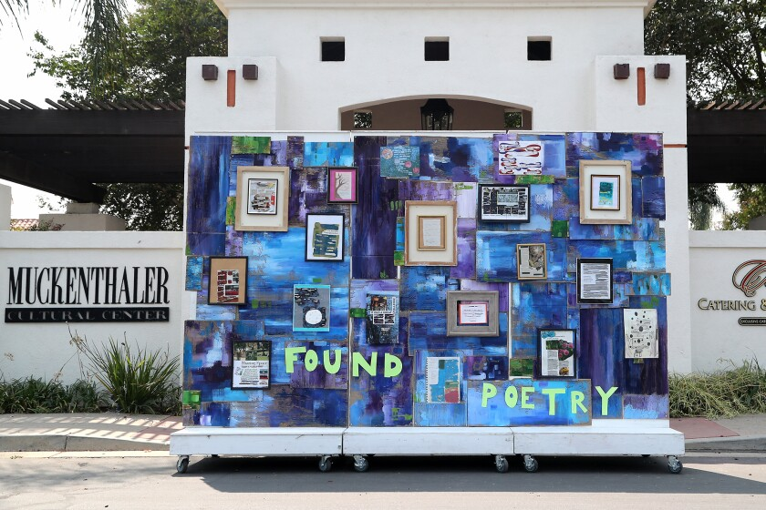The Found Poetry Project, started by Muck's 2020 Artist in Residence, poet Katharine Zaun.