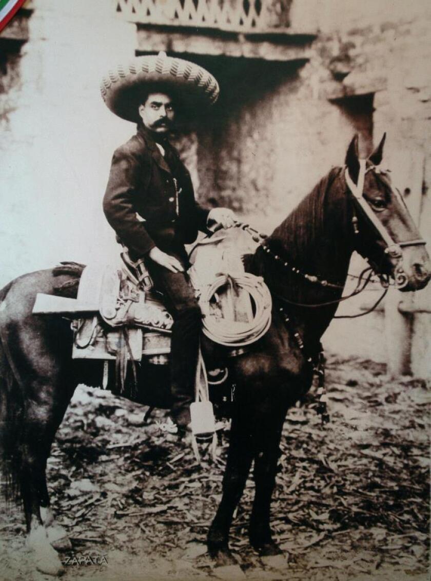 Denuncian extravío de acta de defunción del caudillo mexicano Emiliano Zapata