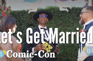 Honey, Let's Get Married At Comic-Con: Comic-Con | Los Angeles Times