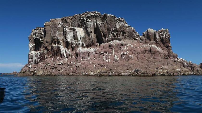 Fotografía de archivo fechada el 4 de septiembre de 2018, que muestra la isla Espíritu Santo, en Baja California Sur (México). EFE
