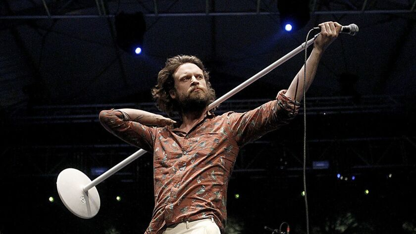 INDIO, CALIF. - APR. 14, 2013. Father John Misty aka Joshua Tillman performs at the Coachella Music