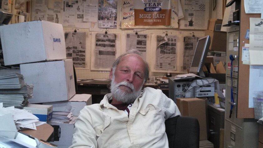 Julian News  Publisher Michael Hart