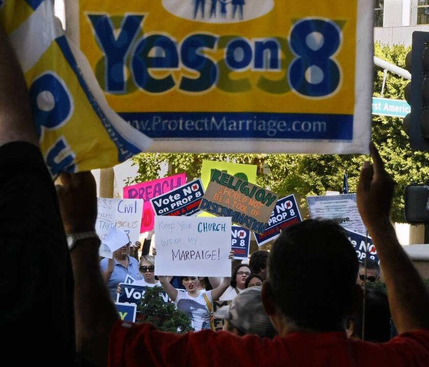 White House asks justices to reject Prop. 8