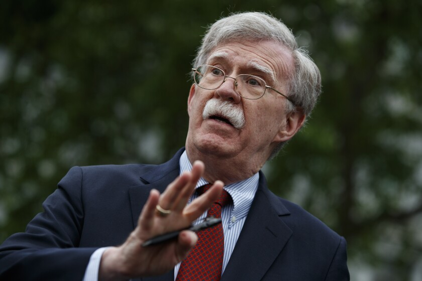 Opinion: Getting John Bolton to testify is only half the battle