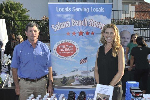 Dave Bubnash and Ellen Wayne of Solana Beach Storage (www.solanabeachstorage.com)