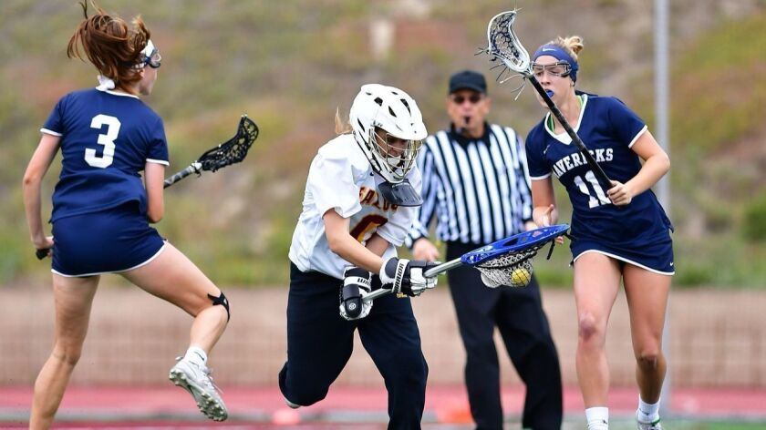 Sophia LeRose, Torrey Pines high school girls lacrosse
