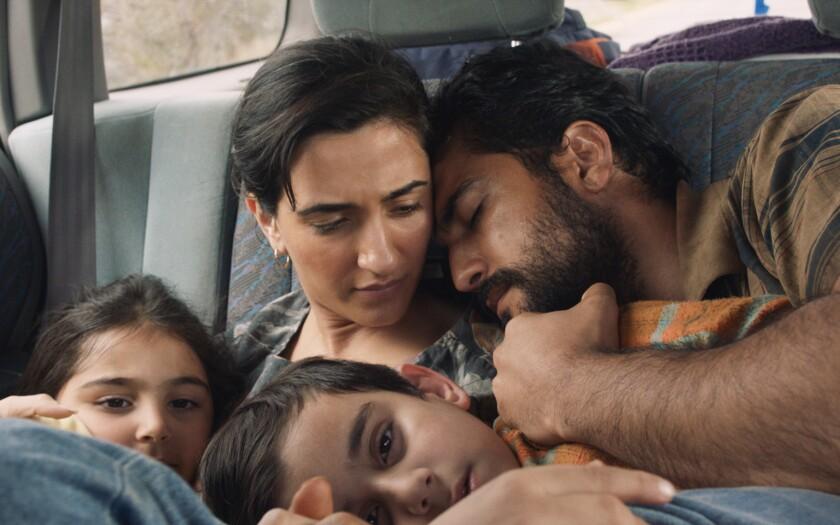 "Anita Afshar, Setareh Naghoni, Amiralia Kianifar and Phoenix Raei in ""Stateless."""