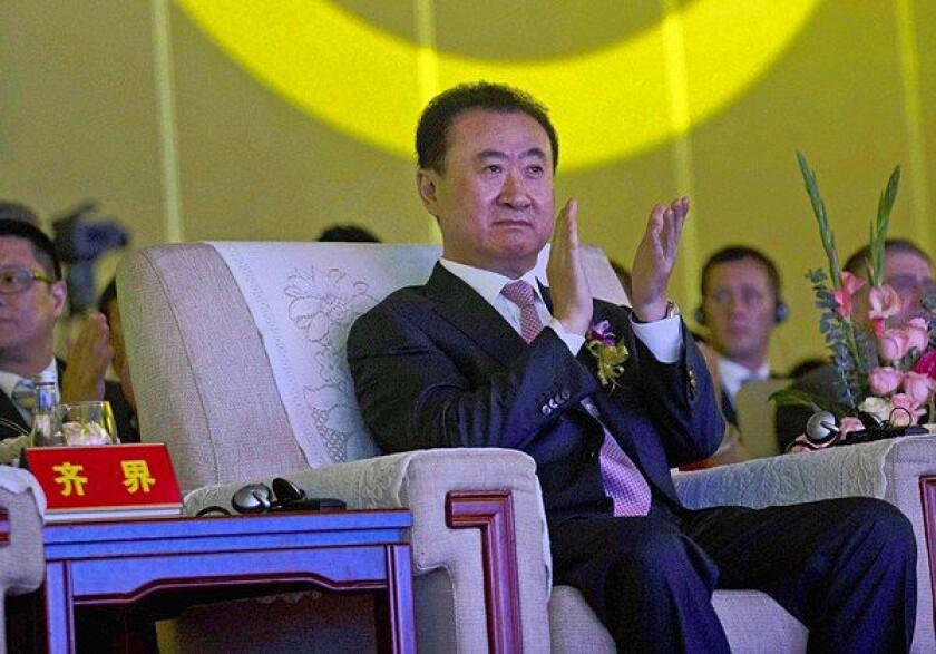 Wang Jianlin's film studio plan in China has a Hollywood