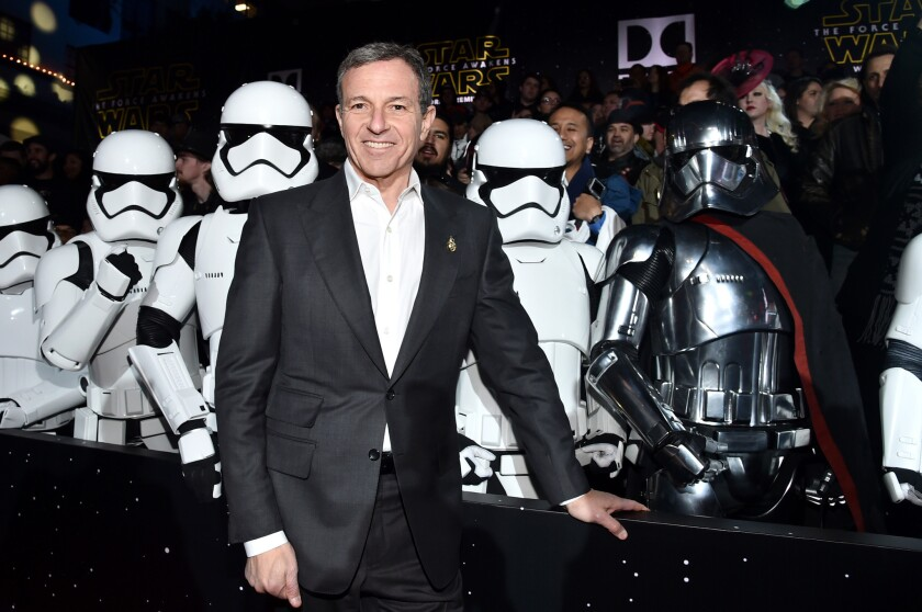Disney Chairman and CEO Robert Iger, whose business lobbying group pushes to import more tech workers from abroad even as it lays off American IT workers by the hundreds.