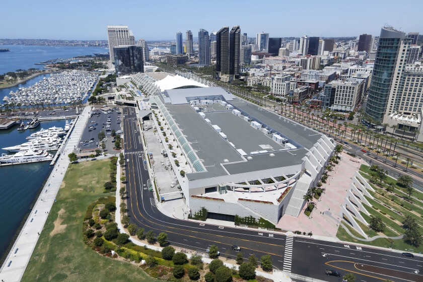 The initiative would raise San Diego's hotel tax to underwrite the expansion of the San Diego's Convention Center.