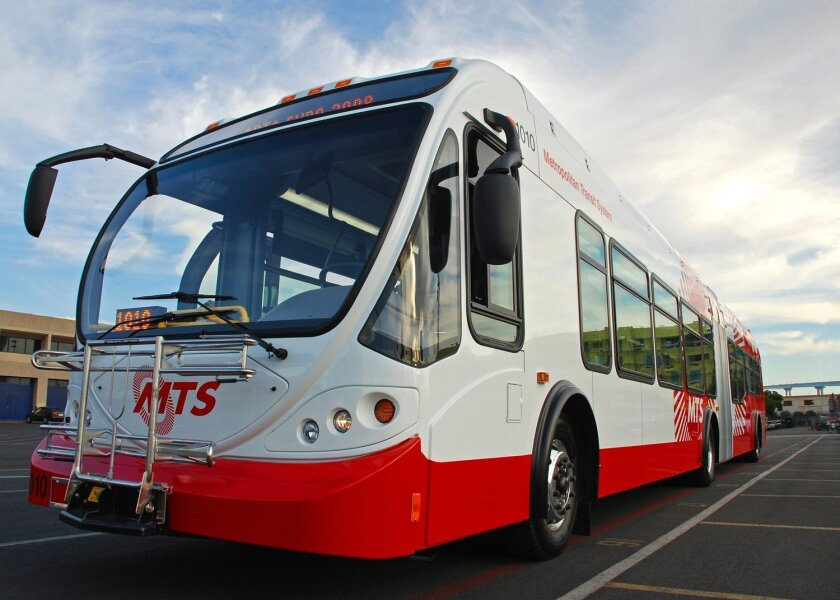 An MTS bus.