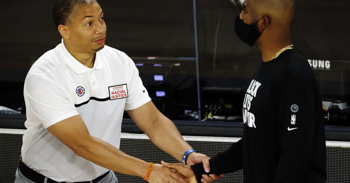 Clippers finalizing deal to hire Tyronn Lue as next coach