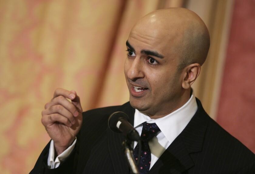 Neel Kashkari is shown in 2008. He spoke at Living Gospel Church in South L.A. on Sunday.