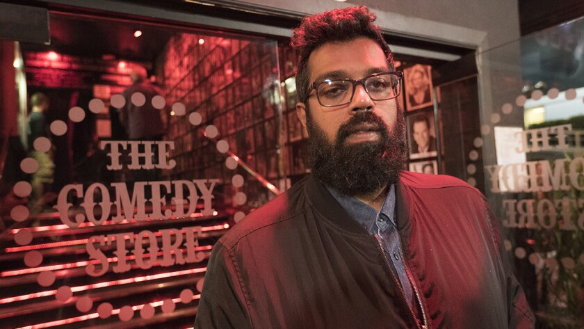 "Romesh Ranganathan in ""Just Another Immigrant"" on Showtime."