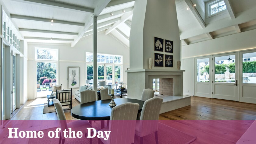 Home of the Day: A contemporary farmhouse in Malibu's Serra Retreat