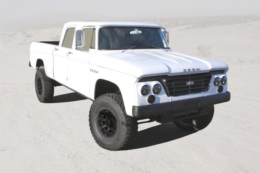 SEMA: ICON reveals burly 1965 'Power Wagon'