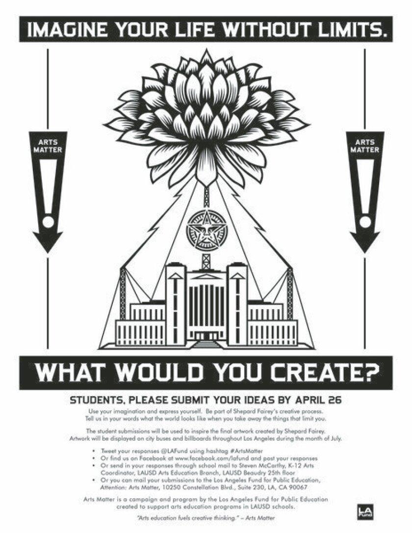 Shepard Fairey taps LAUSD students for ideas