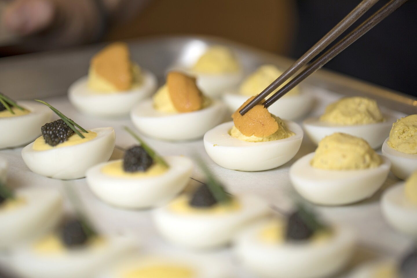 12 recipes for deviled eggs »