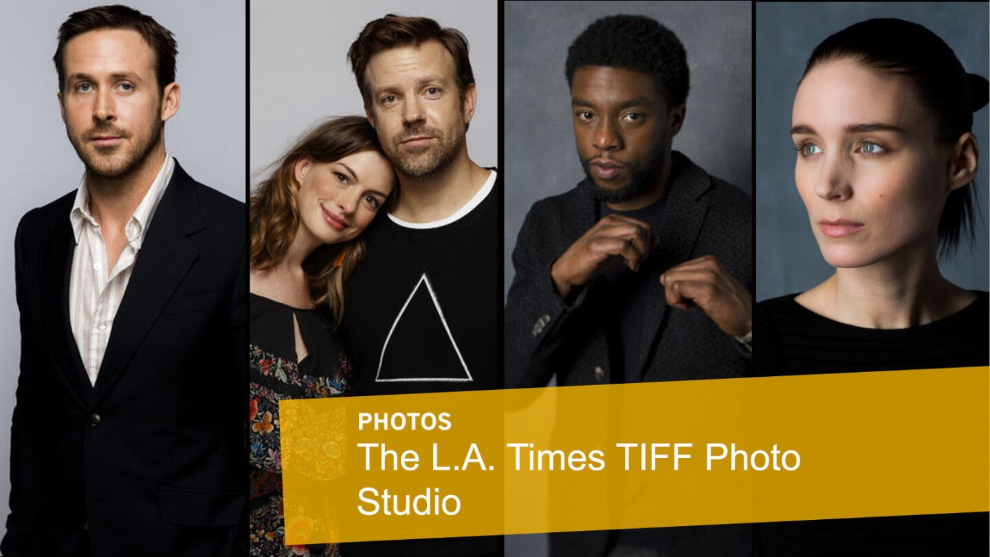 The L.A. Times TIFF photo studio