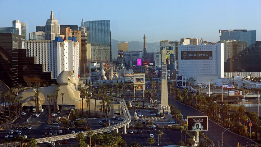 Las Vegas and other resort areas are seeing new hotel fees, such as charges for early check-in.