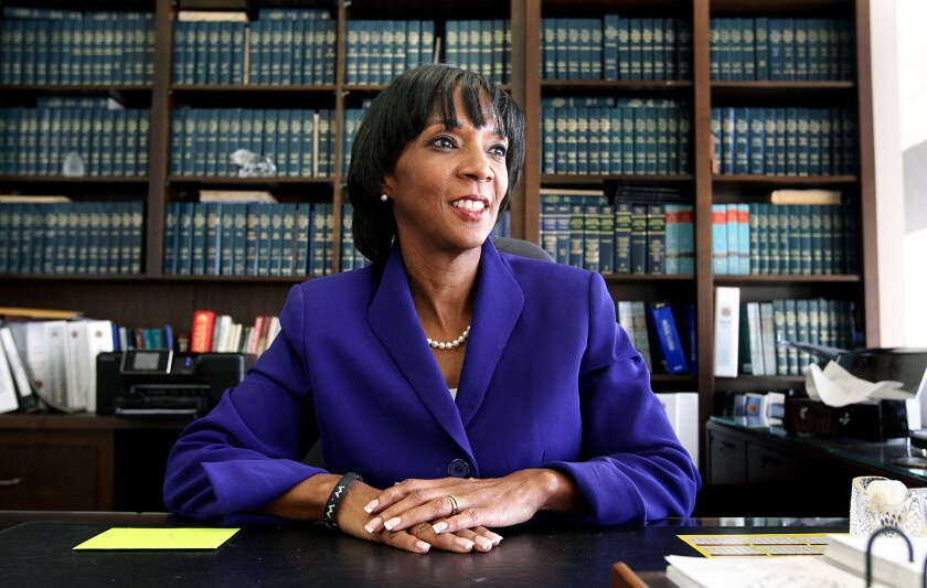 Los Angeles County Dist. Atty. Jackie Lacey in 2012.