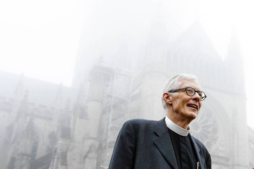 """The Very Rev. Gary Hall says that for the Episcopal church, embracing same-sex marriage ultimately means """"practicing what it preaches, which is that God loves everybody."""""""