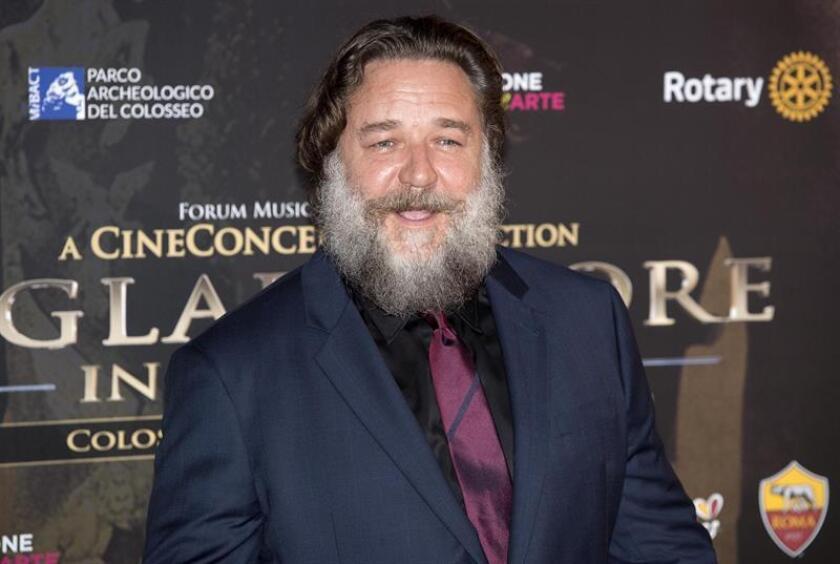 Fotografía del actor neozelandés Russell Crowe. EFE/Archivo
