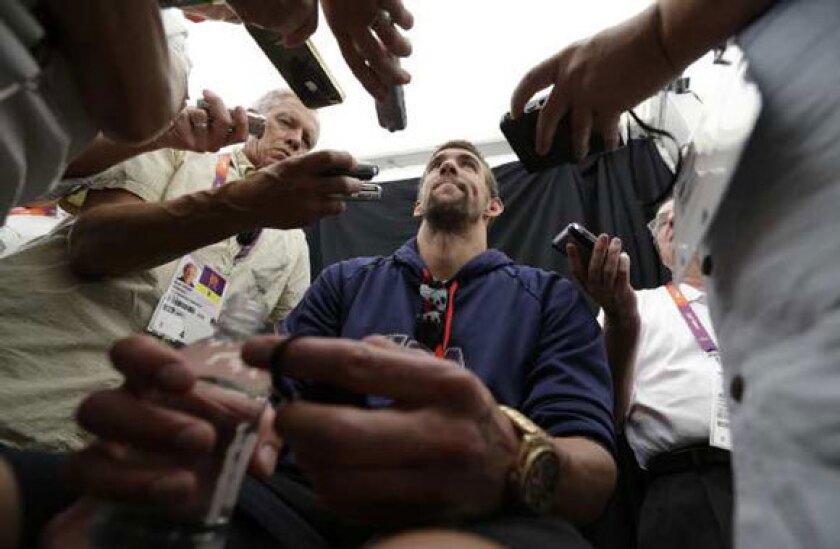 Michael Phelps: Don't consider me for U.S. flag bearer