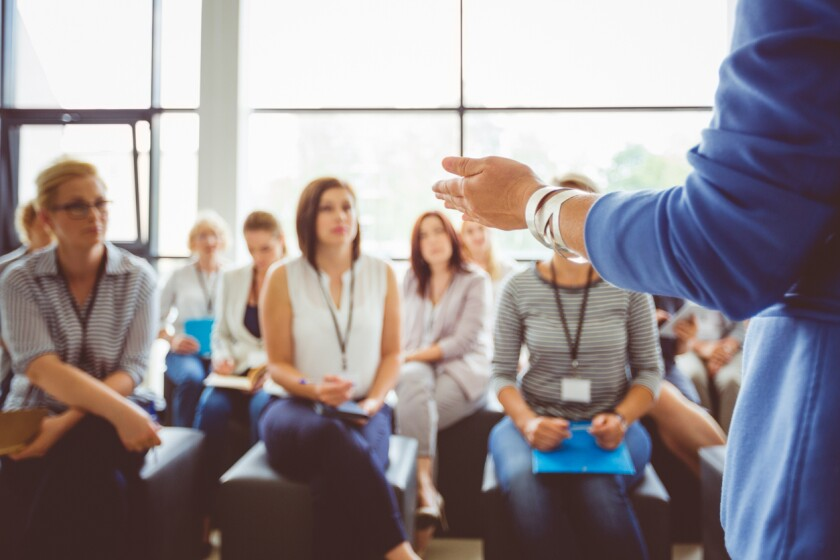 """The challenge for the leader is to find a way to have an """"effective discussion"""" and that starts with assembling the right group to do the talking and thinking."""