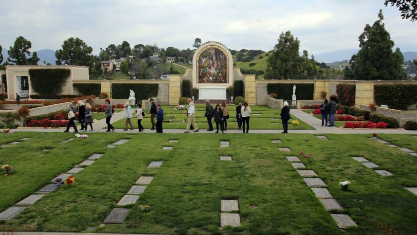 """The Glendale Historical Society offers a variety of tours and programs throughout the year, such as this one at the Secret Garden at Forest Lawn. Coming up the organization will hold an """"Icons of Architecture"""" home tour on Sept. 29."""