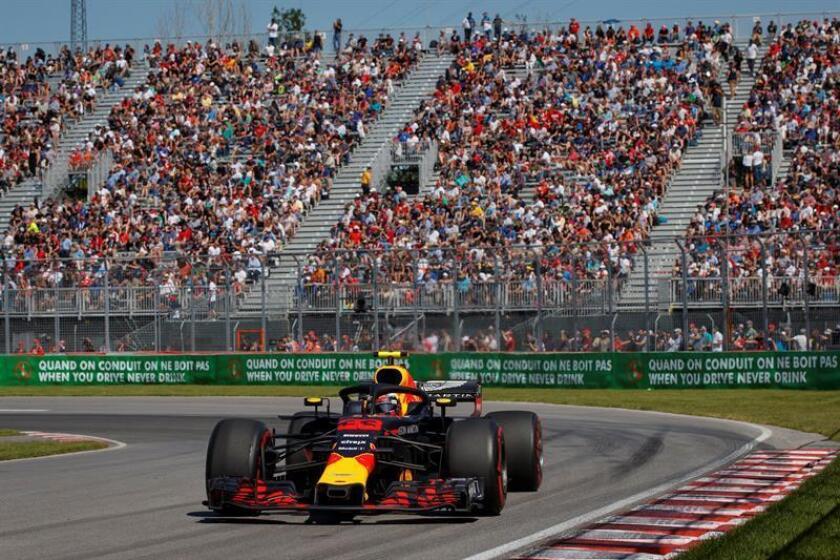 El holandés Max Verstappen (Red Bull). EFE