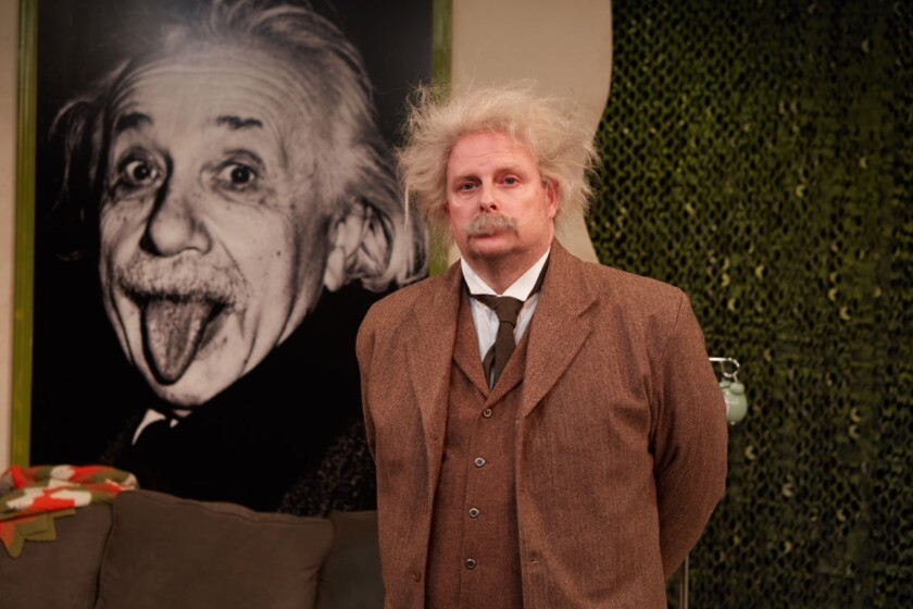 Jake Broder in 'Einstein Comes Through'