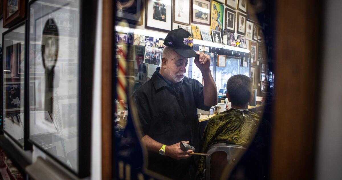 日没後の話でbarbershops in L.A.った神戸と彼の遺産