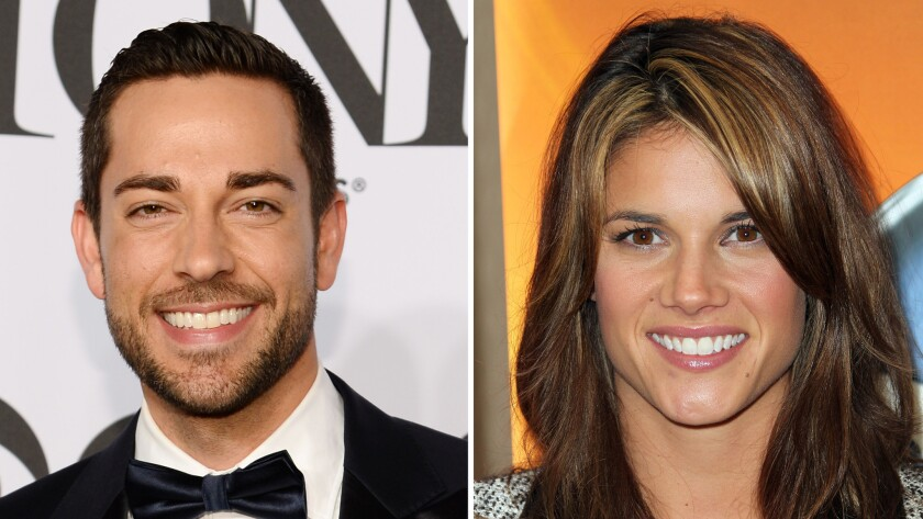 Zachary Levi and Missy Peregrym have wed.