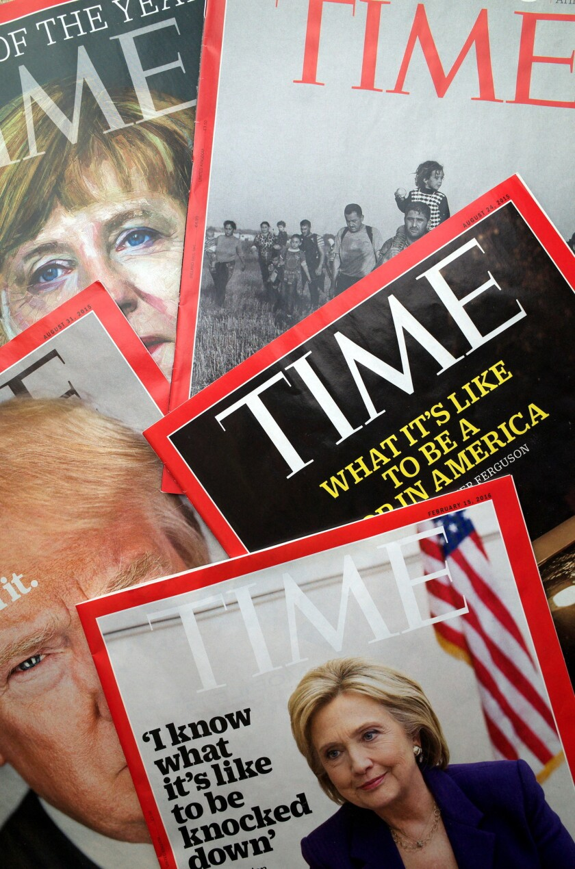 Time magazine has a new owner as Meredith Corp. announced it will buy the storied magazine's parent company for $1.8 billion.