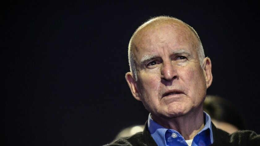 """The Fair Political Practice Commission won't be investigating Gov. Jerry Brown, despite an advocacy group's report about his """"Dirty Hands."""""""