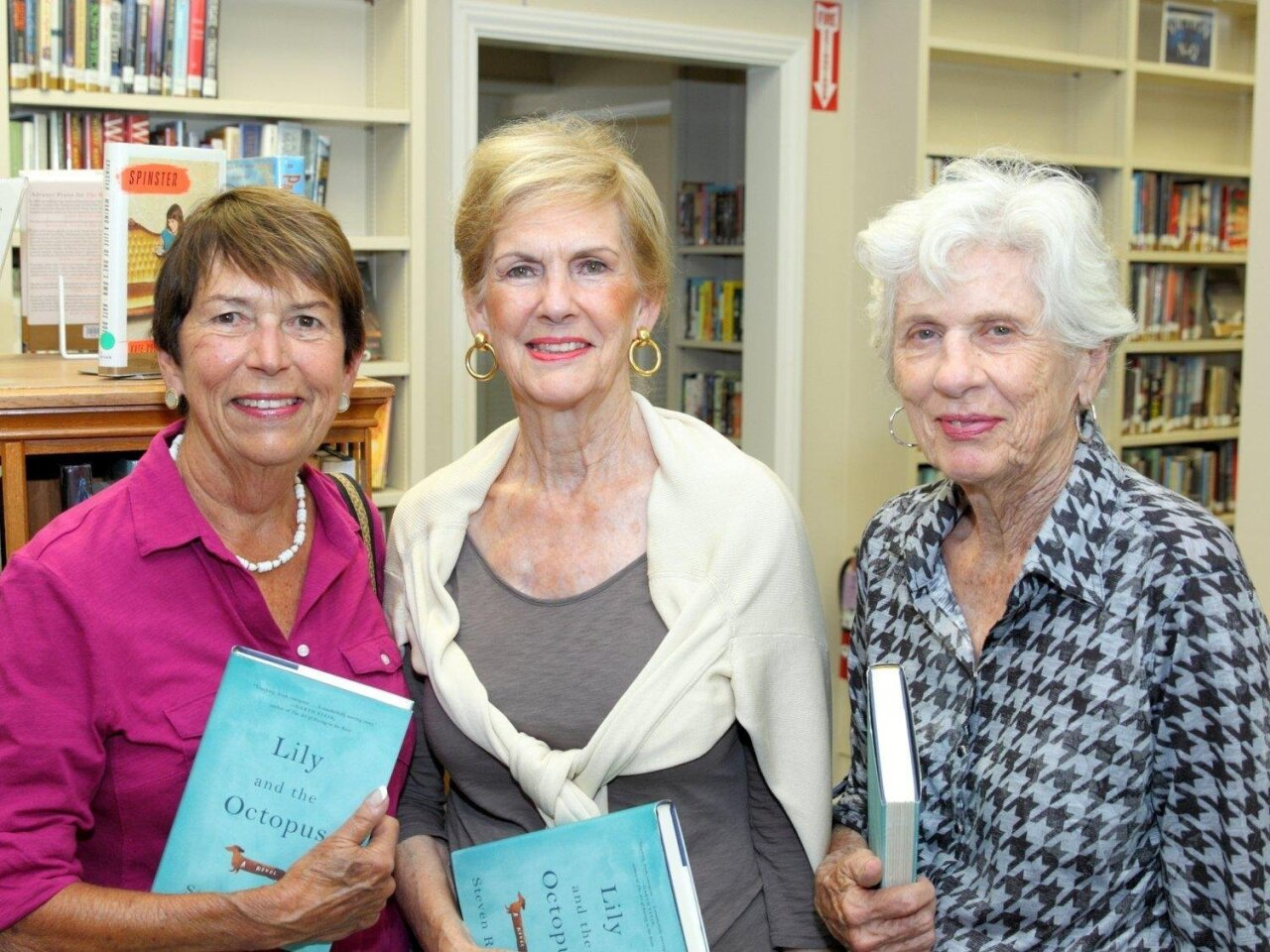 Judy Arendsee, Mary Ann Smith, Mimi Johnson