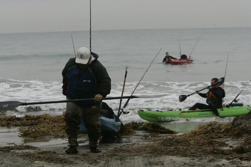 Kayak fishermen are among those worried about losing angling areas off the San Diego County coast in the wake of a decision by the state's Fish and Game Commission to expand offshore reserves.
