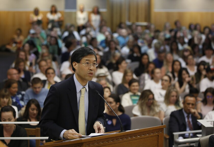 State Sen. Richard Pan (D-Sacramento) is sponsoring a bill to give state public health officials rather than doctors the power to decide which children can skip their shots.