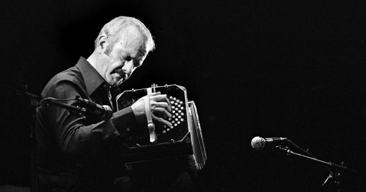 They called him tango's assassin. But Astor Piazzolla's musical reboot made him a legend