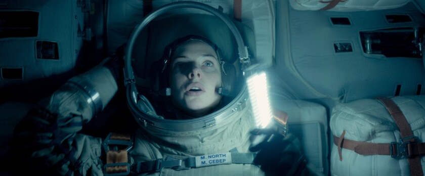 "Rebecca Ferguson as Miranda North in the film ""Life."""