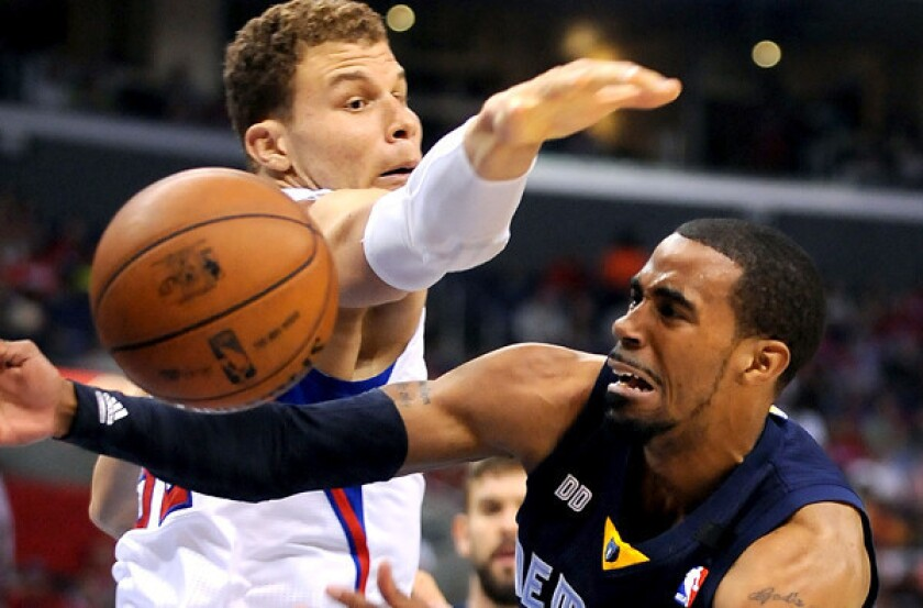 Blake Griffin and Clippers are making a big push on the boards