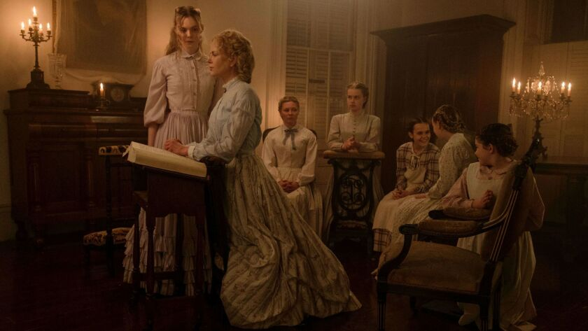 "A scene from ""The Beguiled,"" set in Coppola's gauzy, delicate world."